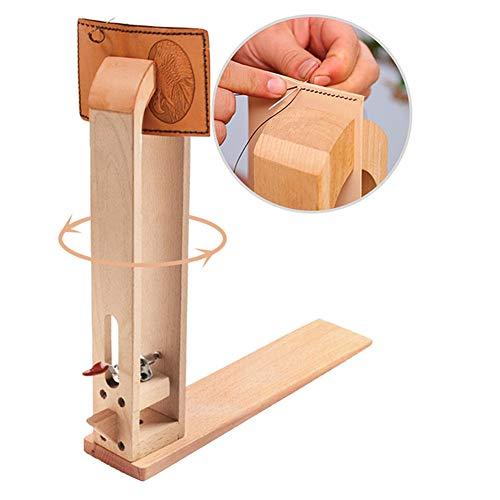 Holz Leder nähen Werkzeug Halteclip Behandlungen Crafts DIY Nähen Schnürsystem Nähkloben Nähpferd Basic zum festhalten des Leders beim Ledernähen