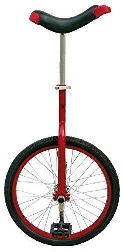 Messingschlager Einrad Fun 16, 20 und 24 Zoll, zur Auswahl (rot, 20 Zoll)