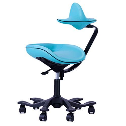 ZHEDYI Student zittende houding Corrigeert Ergonomische stoel, Children's Computer Learning Chair beschermt de wervelkolom, kan verhogen en verlagen van de bureaustoel om te voorkomen Hump bijziendheid