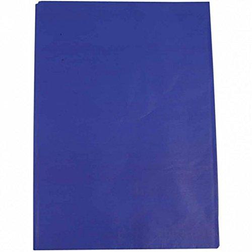 Creavvee® Decoupage Seidenpapier 50x70 cm, Blau 25 Bögen