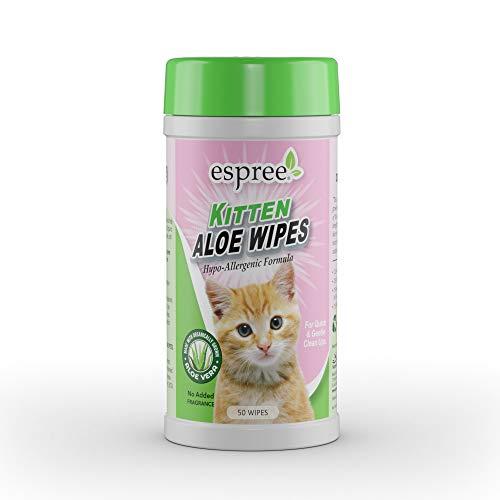 Espree Aloe Kitten Wipes