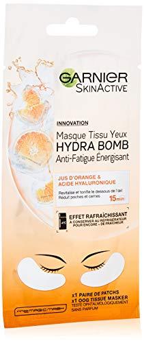 Garnier - SkinActive - Masque Tissu Yeux Hydra Bomb - Anti-Fatigue et Energisant