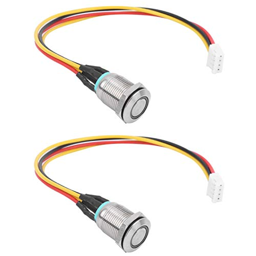 Pwshymi 2PCS Controller Switch Slide Professioneller Controller Switch mit Light Scooter Match Coding Switch mit Light für Elektroroller