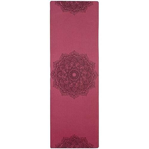 LOMAX Durevole Yoga Mat, Eva Yoga Blocco di Schiuma Mattone Yogitoes Yoga Mat, Colori Stretching Aids Yoga Mats, for Il Nero di Ginnastica Pilates Sport Fitness Sports Corpo Principiante