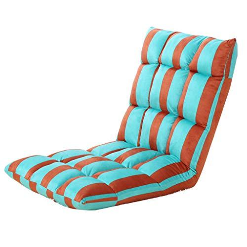 C-K-P Canapé, canapé paresseux, chaise pliante canapé, fauteuil de loisirs couleur: vert