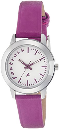 Fastrack Fundamentals Analog White Dial Women's Watch - 68008SL01