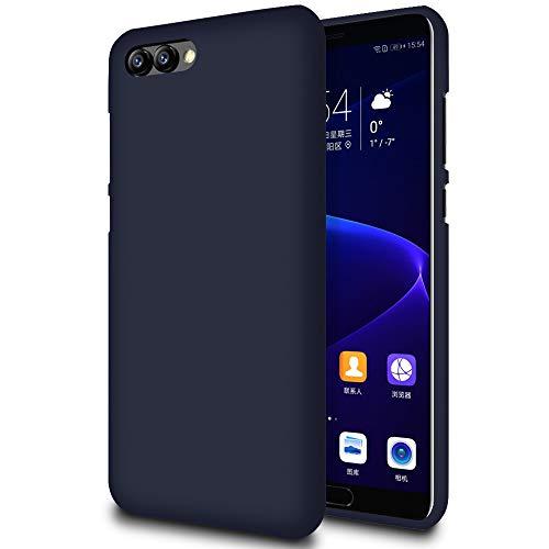 MYCASE Slim Hülle für Huawei Honor V10 / View 10   Unifarben Tasche in Dunkelblau