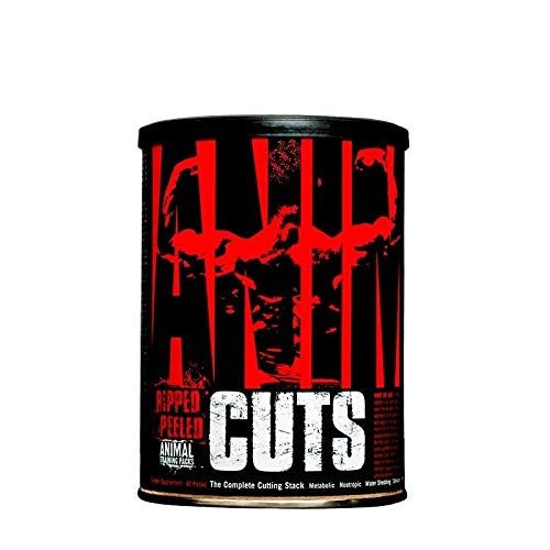Universal Nutrition Animal Cuts, Ripped and Peeled Animal Training Pack, Sports Nutrition Supplement, 42 Servings by Universal