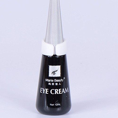 Babysbreath Faux Cils Colle Anti-Sensible Cils Adhésifs Colle Faux Cils Maquillage Colle pour Les Cils Noir