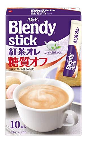 味の素AGF ブレンディ スティック 紅茶オレ 糖質オフ 10包 [8380]