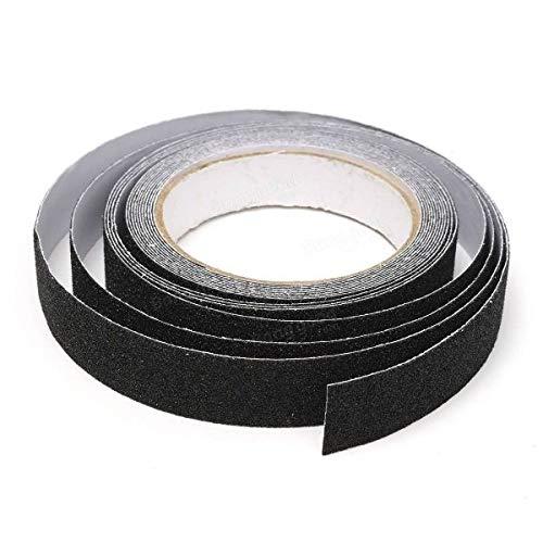 StickersLab-bandes pellicules adhésives antidérapantes Noir Extérieur Intérieur scale sol 25 % 2F50 % 2F100 % 2F230mm-18,3MT X 50 mm