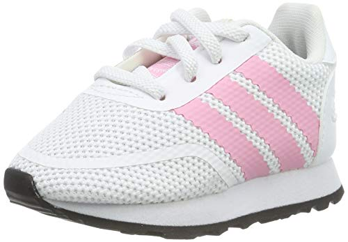 adidas Unisex Baby N-5923 EL I Gymnastikschuhe, Weiß (FTWR White/Light Pink/Core Black FTWR White/Light Pink/Core Black), 23 EU