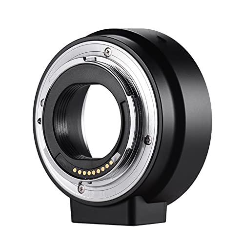 SRR Montaje de cámaras Adaptador de Montaje de Lente de Enfoque automático Tubo de extensión de Anillo, Fit for Lentes Canon EF EF-S a cámaras Canon EOS M2 M3 M5 M6 M10 M50 M100 M-Mount