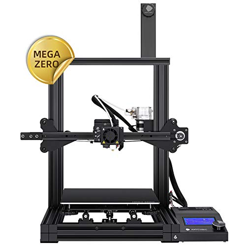ANYCUBIC MEGA ZERO FDM 3D Printer with Printing Size 220 x 220 x 250mm Y-axis Dual Screw Rod Powerful Extruder Support PLA, TPU, WOOD, PETG