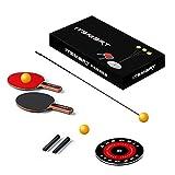 Einzelne Tischtennistrainer 1.1M Set Tischtennisschläger und bälle mit elastischem weichem