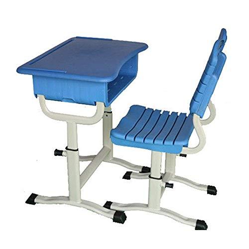 Wohngeräte Kinder Aktivität Tischset Kinder Schreibtisch und Stuhl Set Höhe Verstellbar Schüler Schule Schreibtisch Schreibtisch Arbeitsplatz mit Schubladenablage Kinder Tisch und Stühle Set (Farbe
