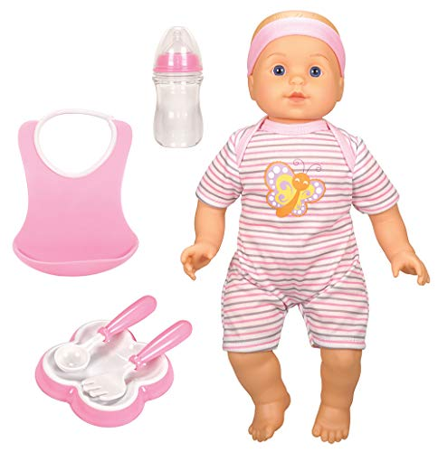 """Bumbleberry Babies Deluxe Doll Set 14"""" Caucasian, Butterfly"""