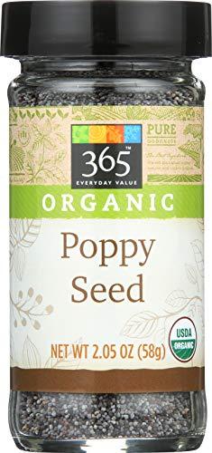 365 Everyday Value, Organic Poppy Seed, 2.05 oz