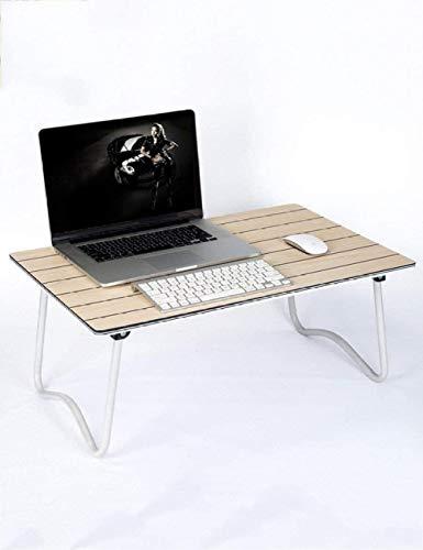 Mesa-tablero de fibra plegable pequeña mesa cama con mesas para ordenador portátil, escritorio de aprendizaje simple 5