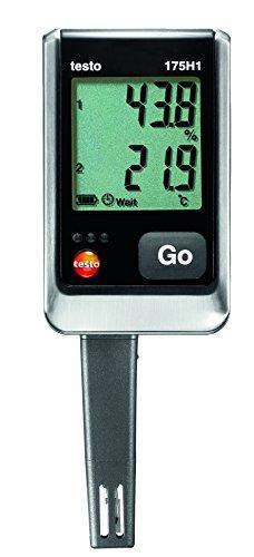 Testo SE & Co.KGaA Testo Temperatur-Messgerät 175 H1, 0572 1754