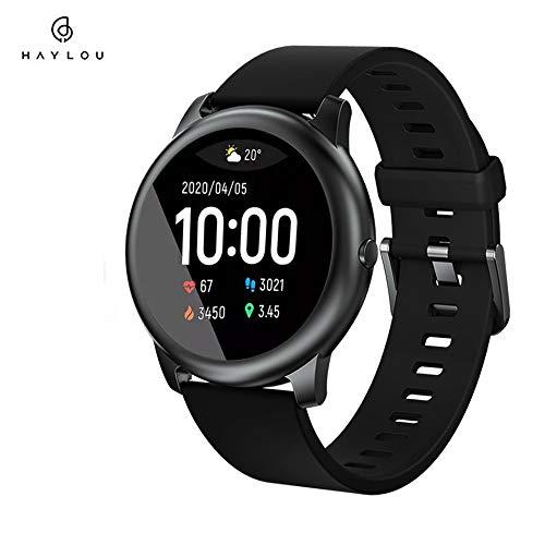 Haylou solar 3 Smartwatch,1.28 Zoll Touch-Farbdisplay Fitness Armbanduhr mit Pulsuhr Fitness Tracker IP68 Wasserdicht Sportuhr Smart Watch mit...