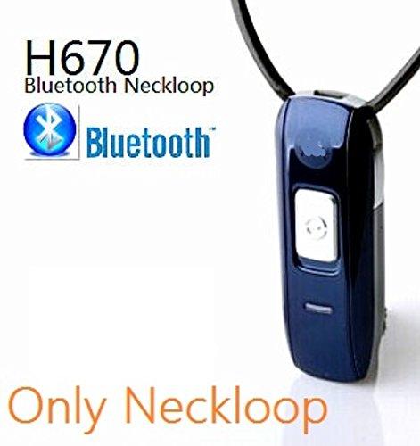 EDIMAEG H670 - Lazo para el Cuello con Bluetooth estándar y con Oreja espía para el oído