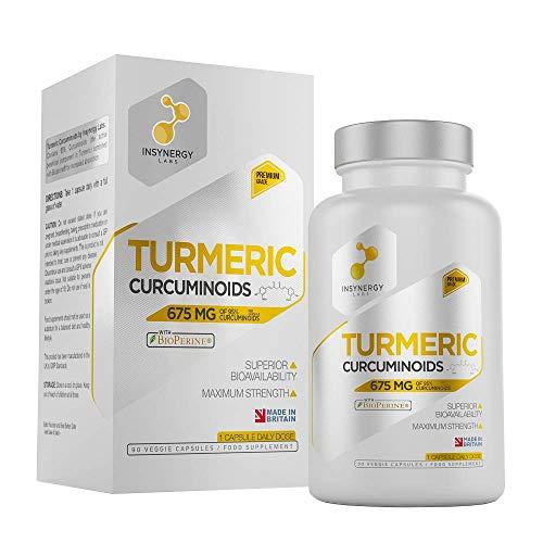 Ultra Premium Organic Turmeric Curcumin with Bioperine (3 Month Supply) – NEW To The Market MEGA DOSE Turmeric Capsules – 90 Pure Turmeric Extract Vegan Capsules