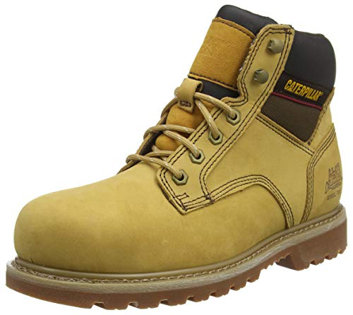 Cat Footwear Tracker, Botas de Trabajo Hombre, Beige (Honey 002), 41 EU