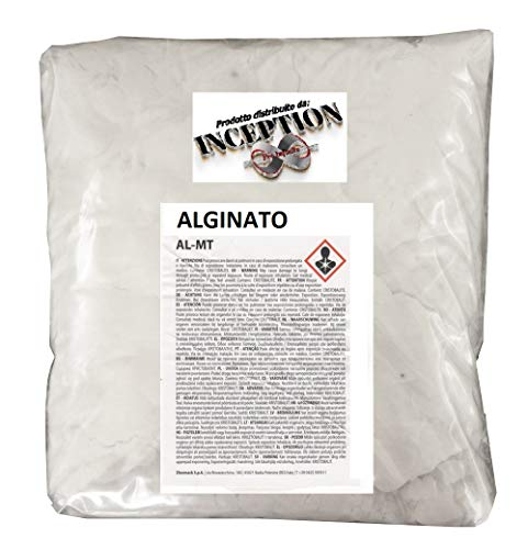 Materiali per il restauro e l' hobbystica Alginato para moldes de Partes del Cuerpo - no tóxico - cantidad de su elección (1 kg)