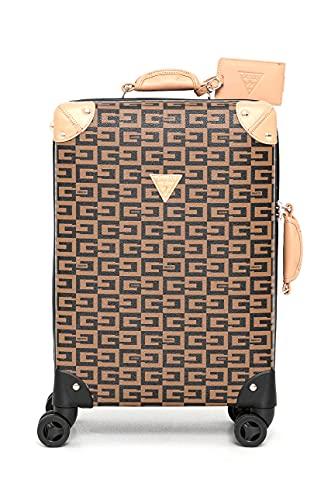Guess Trolley maleta equipaje de mano cabin size con cierre TSA Dimensiones: 40 x 55 x 20