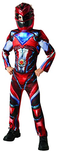 Rubie's 3630711 - Red Power Rangers 2017 Deluxe, Action Dress Ups und Zubehör, M