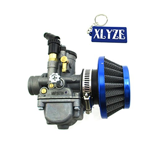 XLYZE 35mm Filtro de aire 19mm Carburador para KTM50 KTM50SX Pit Dirt Bike Pro Senior Supermoto