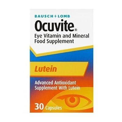 Ocuvite Lutein Eye Vitamin Mineral Supplement 30 x1