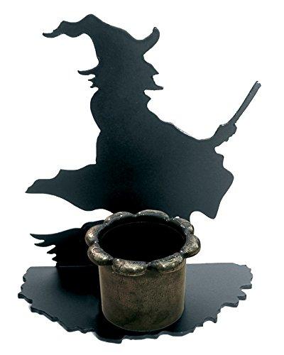 Figura decorativa, Portavelas de Bruja.