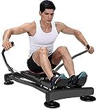 YLLN Fitness Rudergerät, tragbares Rudergerät mit LCD-Monitor für zu Hause G-ym Rudergerät Ab...