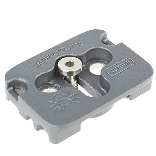 Spider Tether Cable Plate Arca-kompatible Kameraplatte mit integrierter Kabelführung zur Zugentlastung