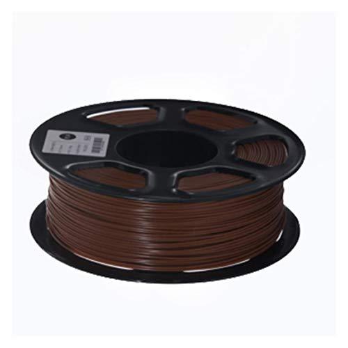 MMD 3D Printer Filament PETG 1.75mm 1kg/2.2lbs Plastic PETG Filament Consumables PETG Material for 3D Printer Filamento (Color : Coffee)