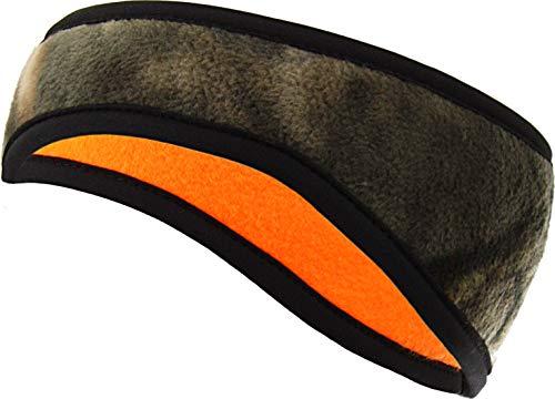 Zeek Outfitter Mossy Oak Country Camo Headband | MOC Ear Warmer Protection | Mossy Oak Hats for Men | Mossy Oak Head Cover | Safety Orange Hunting