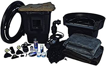 Aquascape Pro Pond Kit 11 Feet x 16 Feet   Medium   Tsurumi 3PL Pump