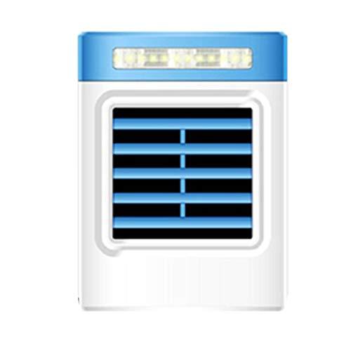 Natheeph Mini Aire Acondicionado portátil Aire Acondicionado Negativo Aire Acondicionado Ventilador Dormitorio de la Oficina al Aire Libre Universal USB pequeño Ventilador de refrigeración Blue