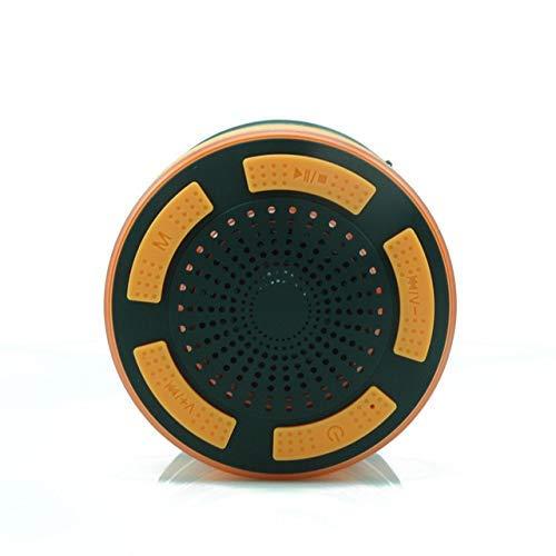 Audio para Bicicleta, Altavoz Bluetooth a Prueba de Agua, Audio LED Audio a Prueba de Agua Radio para Exteriores Fácil de operar y Transportar