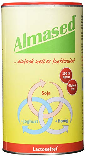 Almased Wellness Vitalkost lactosefrei Pulver 1er Pack(1 x 500 g)