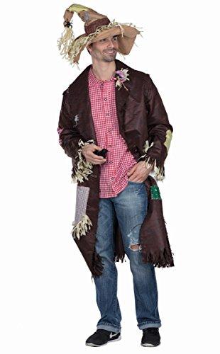 Rubies 14242-S Espantapjaros, Abrigo, Disfraz de espantapjaros para Hombre, Multicolor