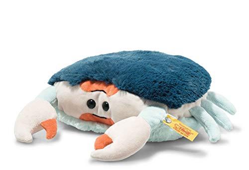 Steiff 069147 Soft Cuddly Friends Curby Krabbe-22 cm-Kuscheltier für Kinder-weich & kuschelig-waschbar-bunt (063147)