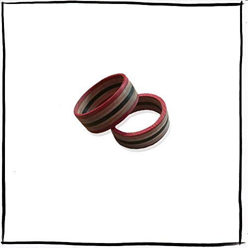 Recycling-Skateboards, Holz-Ring, handgemachter Ring, Geschenk, Holz-Ring, Holzschmuck, Skateboard-Ring, coolring, Recycling-Ring