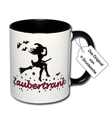 Spruchtasse Funtasse Kaffeebecher Henkelbecher Tasse mit Spruch Teetasse Hexentasse Kaffeetasse Tasse mit Aufdruck Hexe