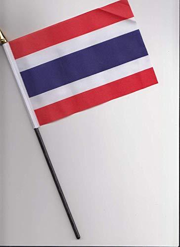 Bandiera a mano Tailandia da 25cm