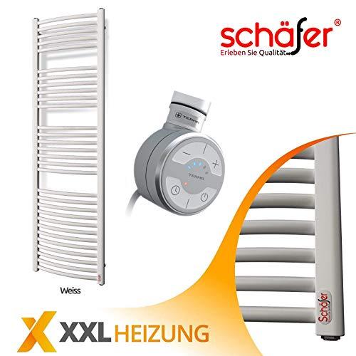 Elektrische Badheizkörper Schäfer ® TERMA Handtuchheizkörper (Oval, 400 x 1600 mm WON)