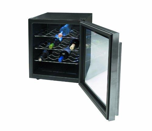 Lacor - 69071 - Armario refrigerador 16 Botellas Inox Line 70w 46Litros