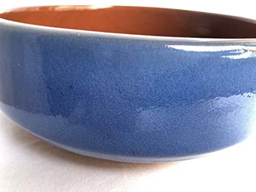 スペイン製耐熱陶器 PAELLA パエリア 19cm カラー:青